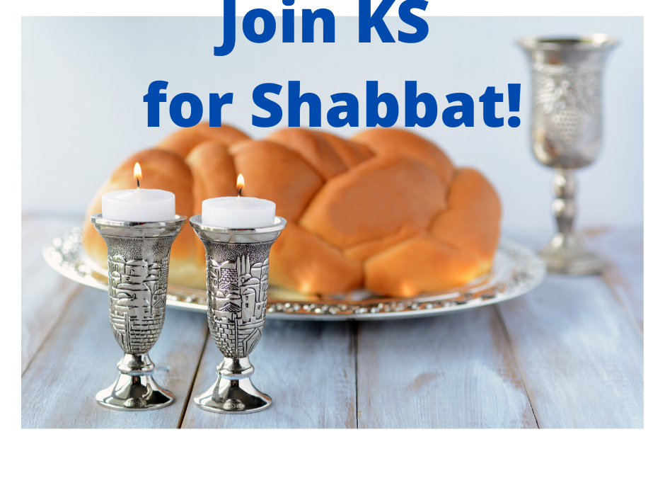 Join Us Online for our Shabbat Services & Onegs!
