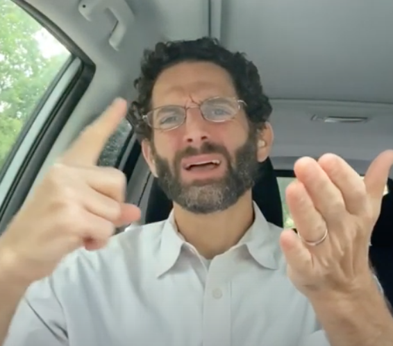 A High Holy Days Message: Lean on Me, in ASL, with Rabbi Darby Leigh