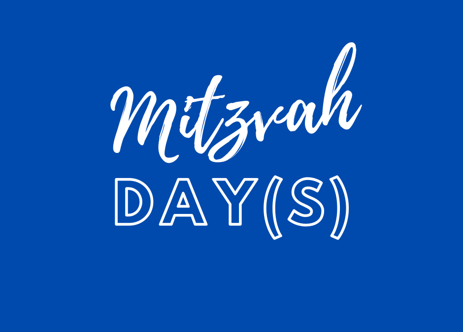 KS Mitzvah Day(s)
