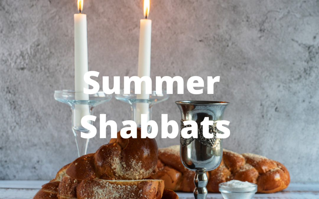 Join KS for Summer Shabbat Services—In-Person or Online!